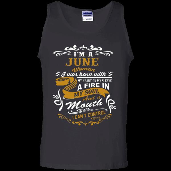 415f15d20d5 I m A June Woman T-Shirt - Tank Top https