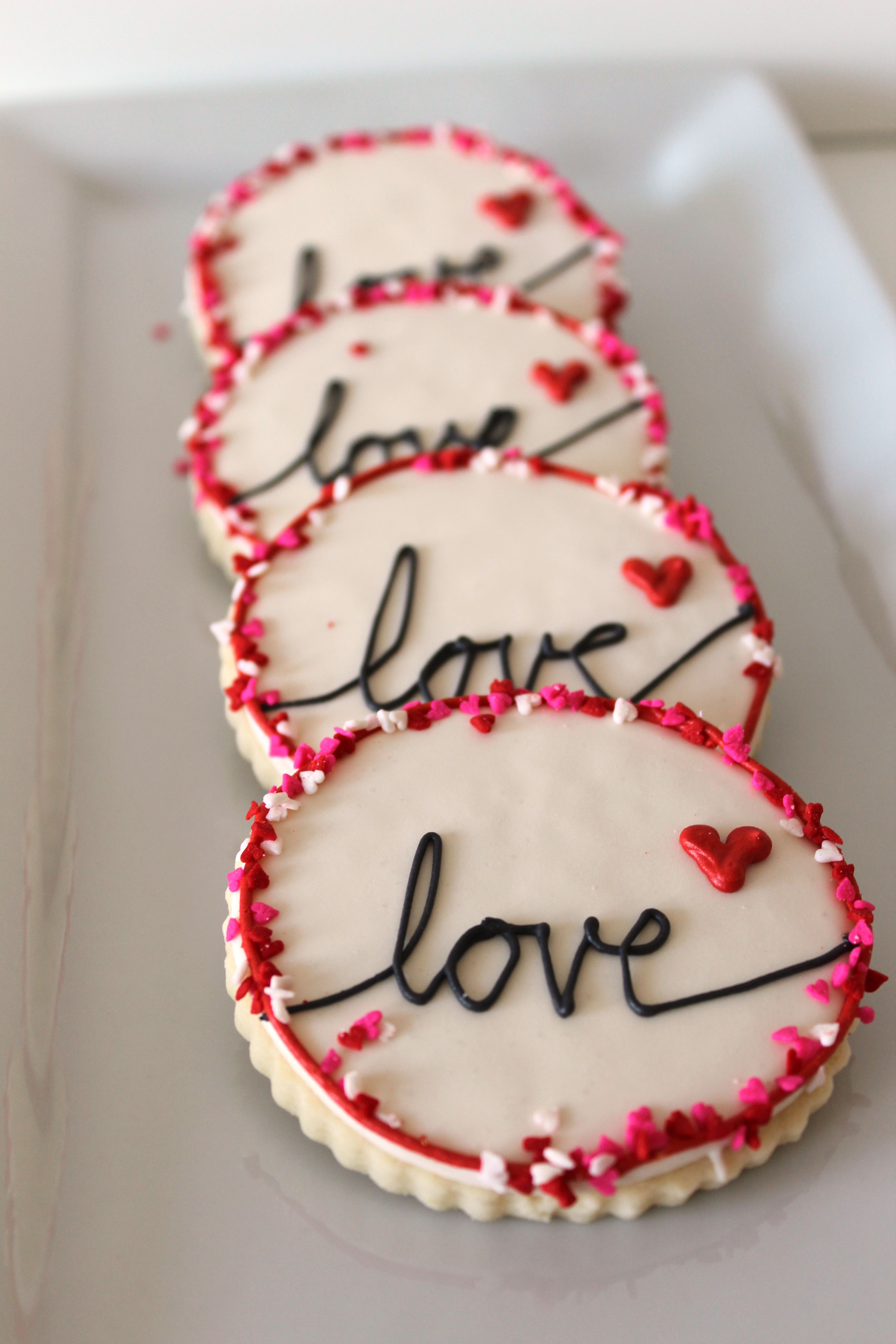 Heart Themed Cookies Valentine S Day The Crafting Foodie