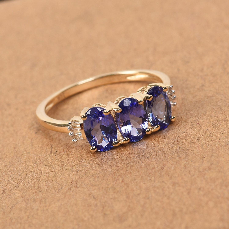 Details about  /Beautiful Blue Tanzanite Gemstone Engagement Jewelry 10k Rose Gold Ring