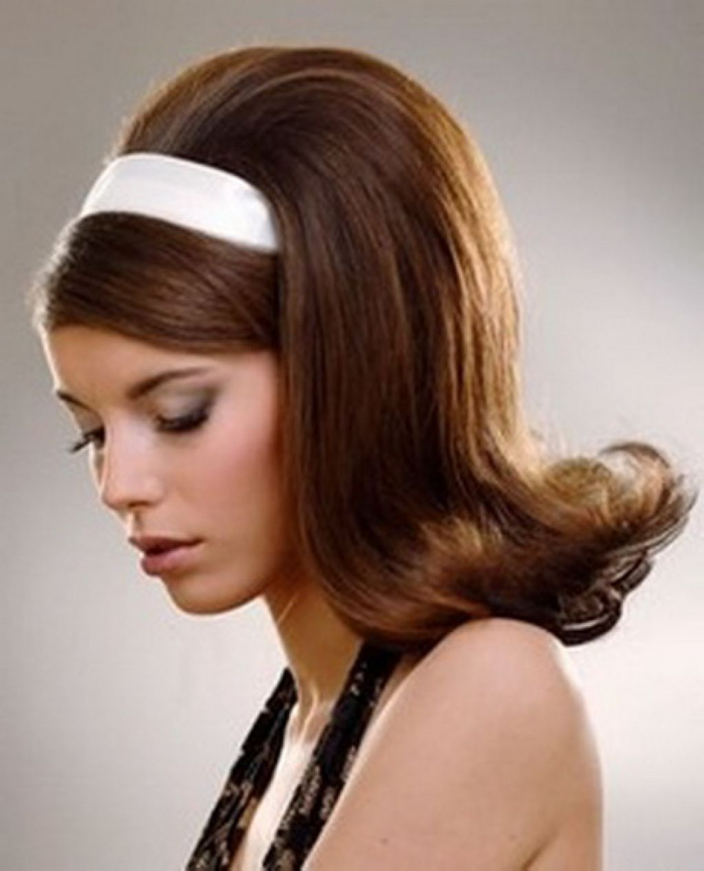 Fifties Hairstyles For Long Hair New Hairstyles 50s Hairstyles Hair Styles Long Hair Styles
