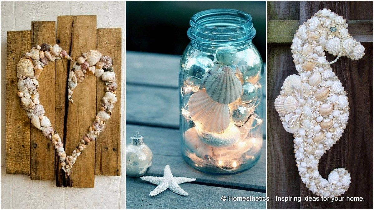 Easy Seashell Craft Ideas 13 With Images Seashell Crafts Sea
