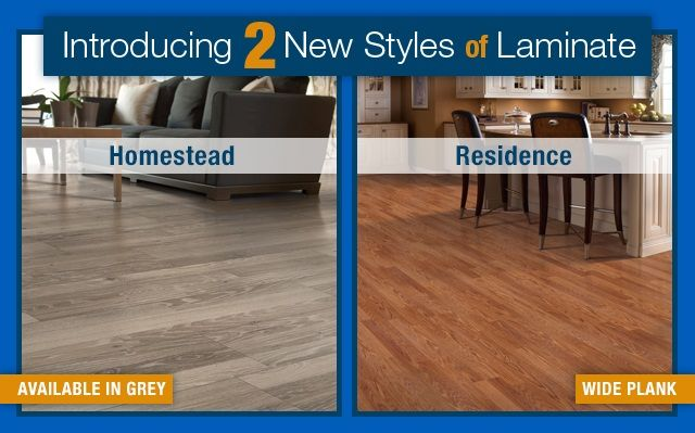 Introducing New Homestead And Residence Wood Laminate Flooring From
