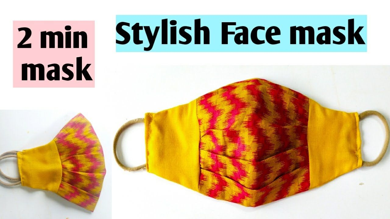 Photo of Easy face mask (New style) ll Mask tutorial