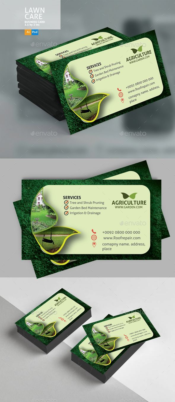 Lawn Care Business Card Business Cards Print Templates For Lawn Care Business Cards Lawn Care Business Cards Landscaping Business Cards Lawn Care Business