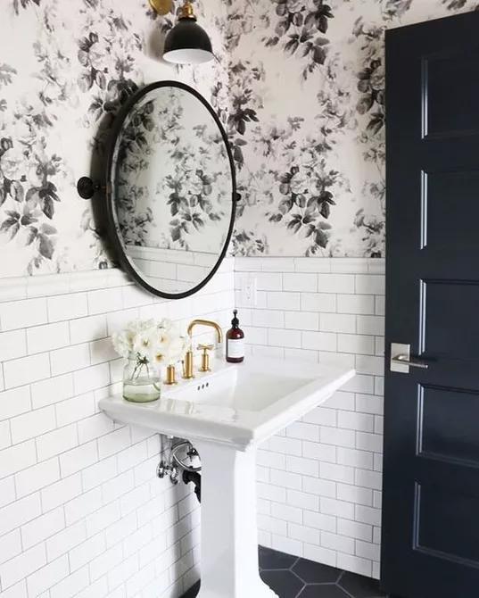 Beaded Board Bathrooms Beadboard Bathroom Small Bathroom Remodel Beadboard Wallpaper