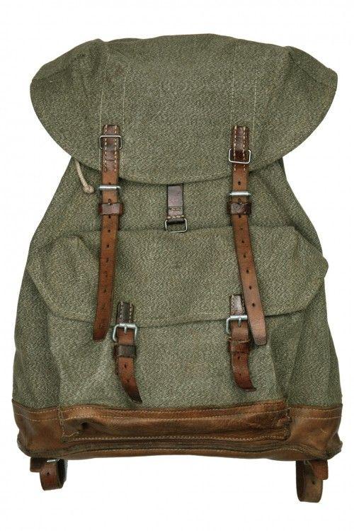 Swiss Army Backpack - Vintage