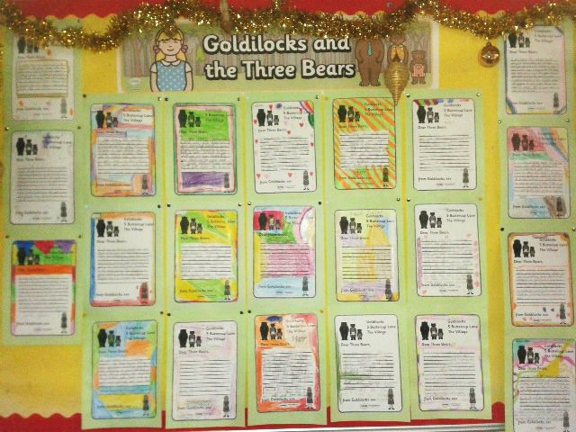 goldilocks apology letter to the three bears twinkl school