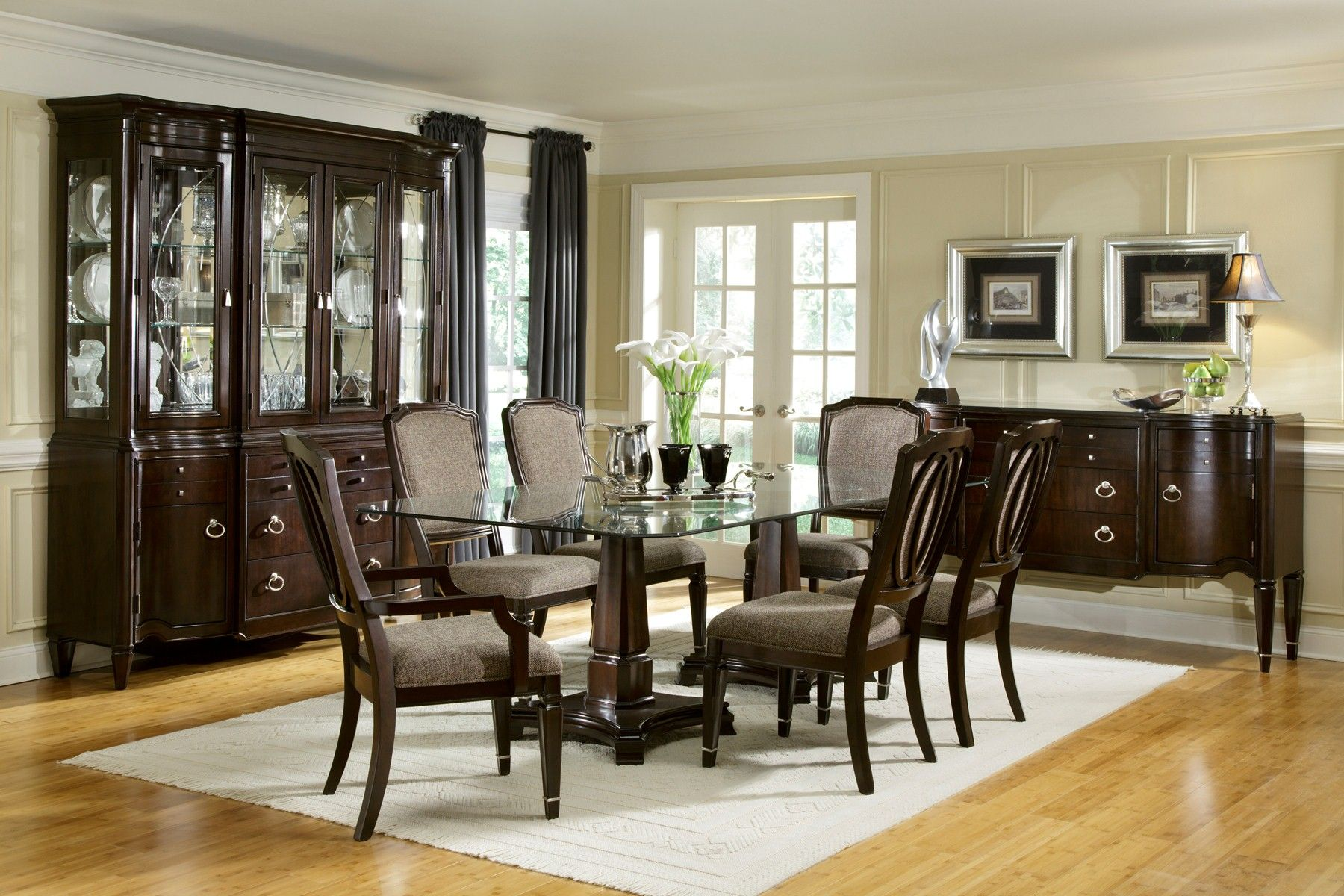 Top Awesome Brilliant Dining Room Glass Dining Table amazing glass