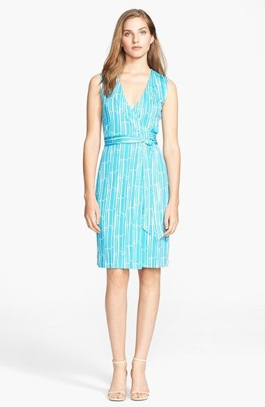 3eb94b4fc09 Diane von Furstenberg  New Yahzi  Silk Wrap Dress on shopstyle.co.uk ...