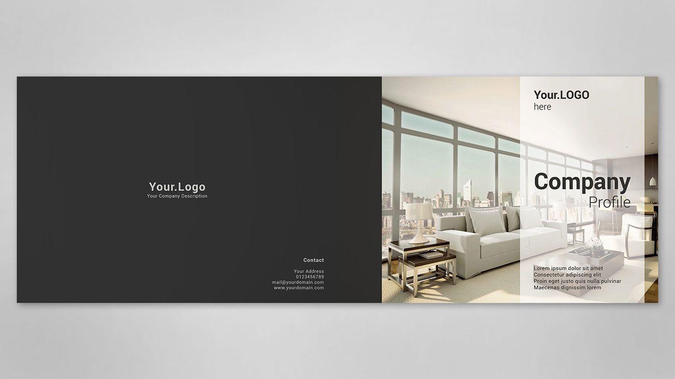 Company Profile Cover Design Desain