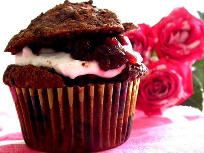 cuprazat: Feketeerdő cupcake