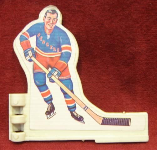 3225 Coleco Table Hockey Game NEW YORK RANGERS Team 1970s