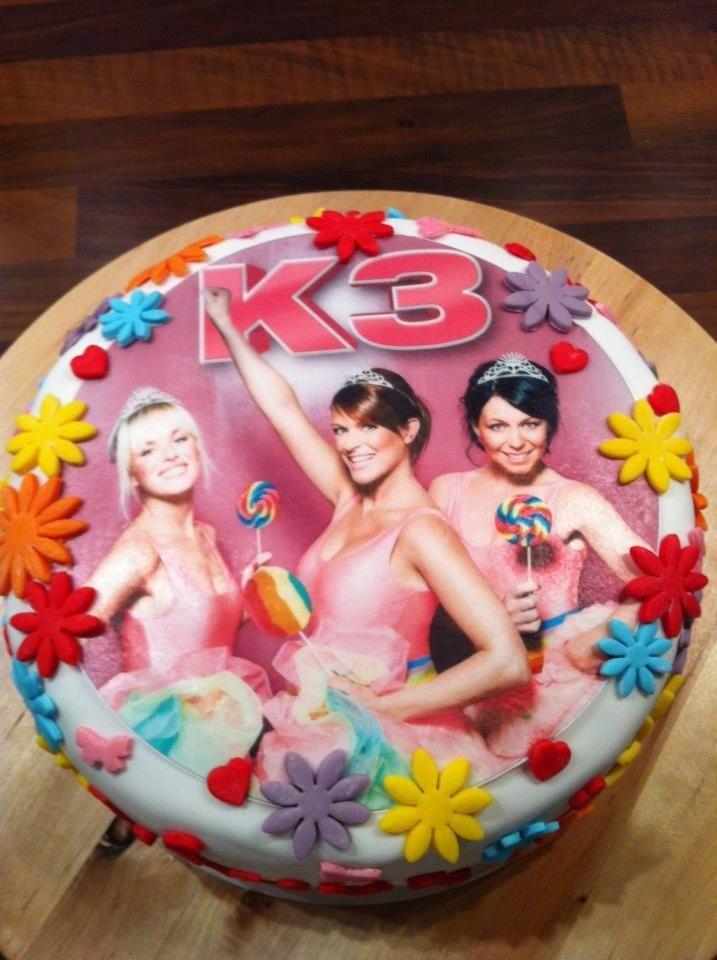 k3 taart.   taarten kids   pinterest   cake