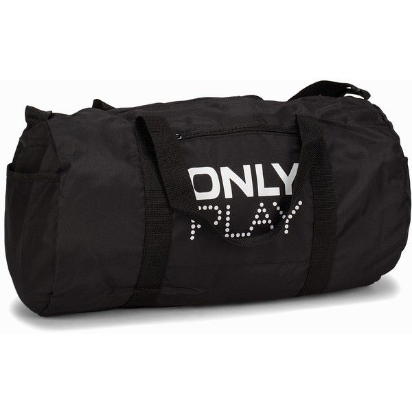 Only Play Onppromo Bag ($12) ❤ liked on Polyvore featuring bags, accessories sport, black, sports fashion, womens-fashion, sports bag, logo bags, training bag, long handle bags and sport bag