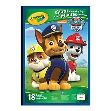 Crayola - Giant Colouring Pages - Paw Patrol - Crayola - Toys\