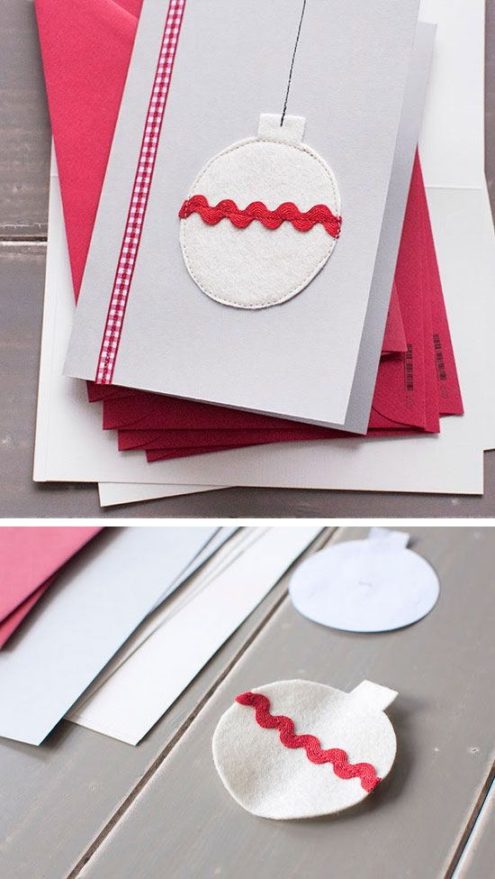 How To Make Xmas Cards Ideas Part - 37: 28 DIY Christmas Card Ideas For Families | Diy Christmas Cards, DIY  Christmas And Christmas Cards