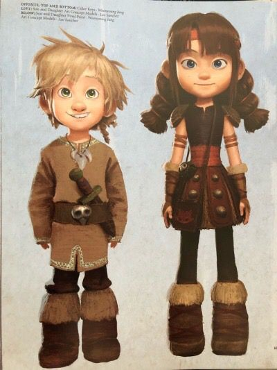 Astrid And Hiccup Are In Their Thirties When They Are The Viking