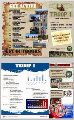 Troop Recruiting Brochure Template  ScouterJeff  Scouter Jeff