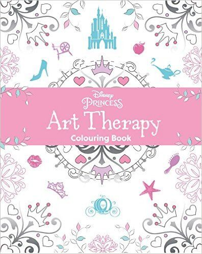 Disney Art Therapy Coloring Book Round Up Art Therapy Coloring Book Disney Princess Art Coloring Books