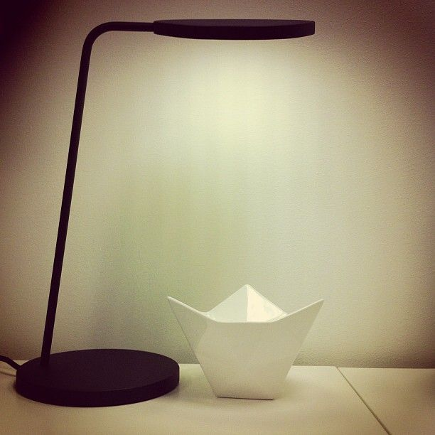 Leaf Table Lamp Black Crushed Bowl Muuto Pinned From Webstagram Photo By Nordiskrom Lamp Muuto Decor