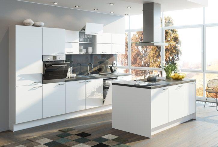 Modell Civetta Farbenfrohe Küchen Pinterest Programm, Küche - kleine küche mit kochinsel