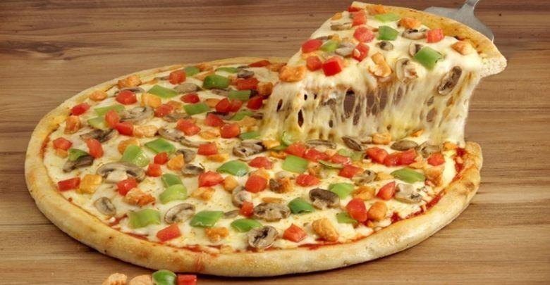 اسهل طريقة لعمل البيتزا الإيطالية في المنزل Food Vegetable Pizza Breakfast