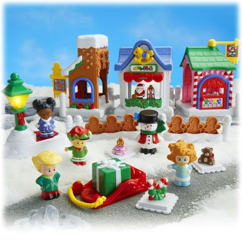 Fisher Price Loving Family Dollhouse Christmas Winter SLEIGH Part Piece Toy