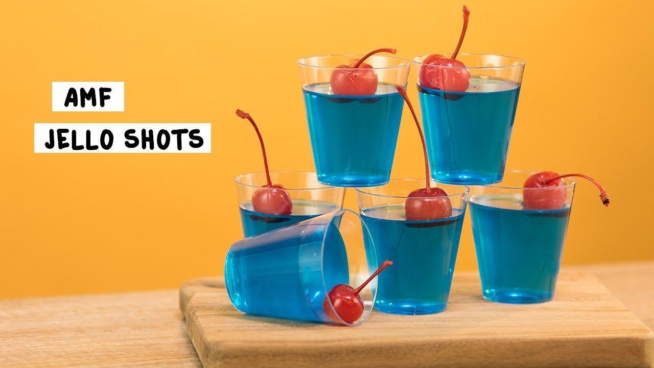 Amf Jello Shots Tipsy Bartender Recipe Jello Shots Jello Jello Shot Recipes