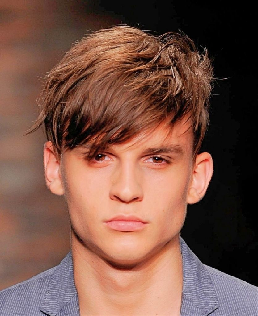 Mens Haircut Long Front Short Back In 2020 Boy Haircuts Long Top Short Hairstyles Mens Hairstyles Short Sides