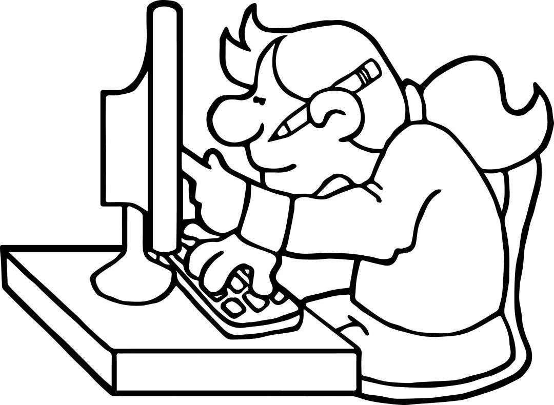Computer Coloring Pages Best Coloring Pages For Kids Coloring Pages Coloring Pages For Kids Helping Kids