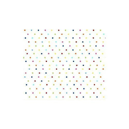 Amazon.com: SheetWorld Fitted Cradle Sheet - Primary Colorful Pindots Woven - Made In USA: Baby