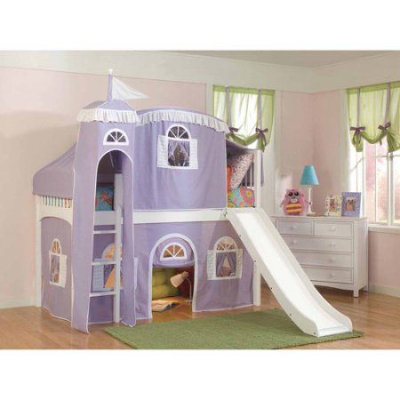 Home Low Loft Beds Twin Size Loft Bed Castle Beds For Girls