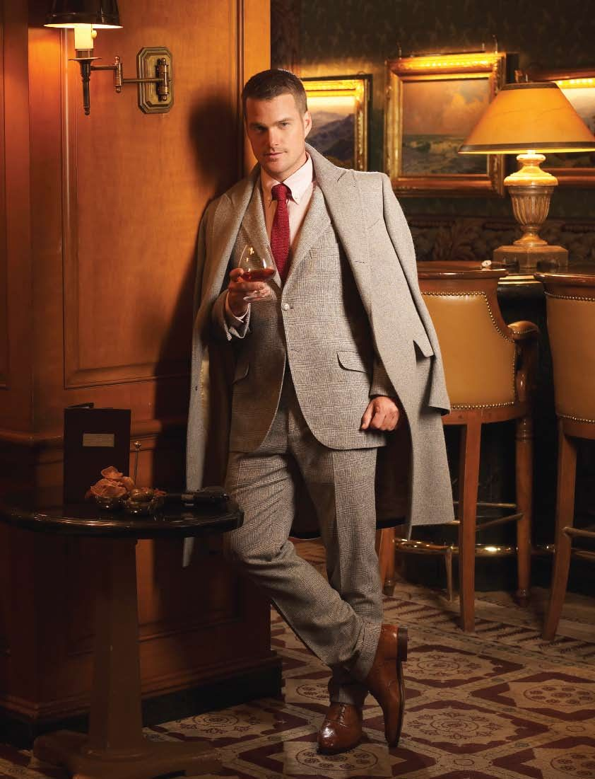NCIS: LA's Chris O'Donnell photographed by Cliff Lipson for Watch! Magazine