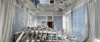 The decline of Grand European Villas by the Photographer Mirna Pavlovic