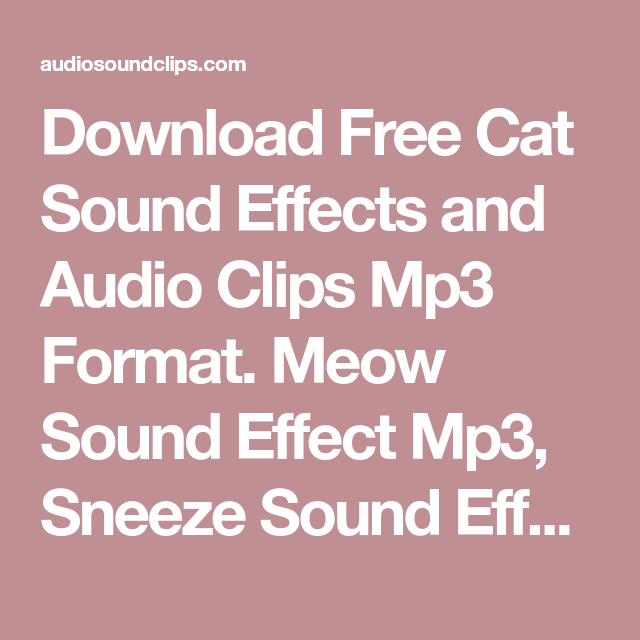 movie sound clips download