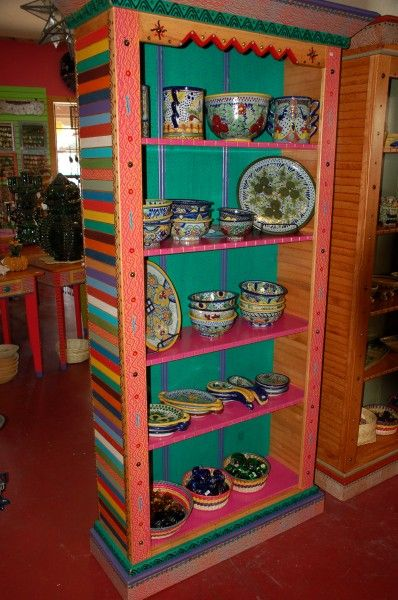 Hand Painted Furniture Cosas Online Mexican Folk Art
