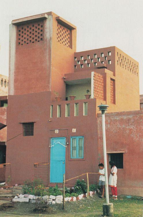 aqqindex Balkrishna Doshi, Aranya Low Cost Housing India