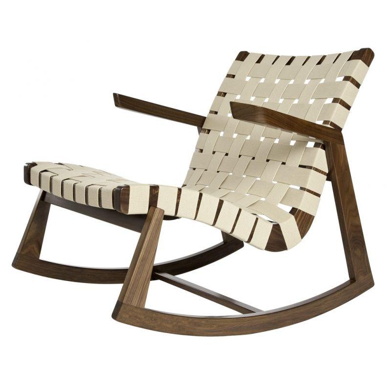 Wonderful Rocking Chairs · Greenbelt Outdoor Rocker Made Of Walnut