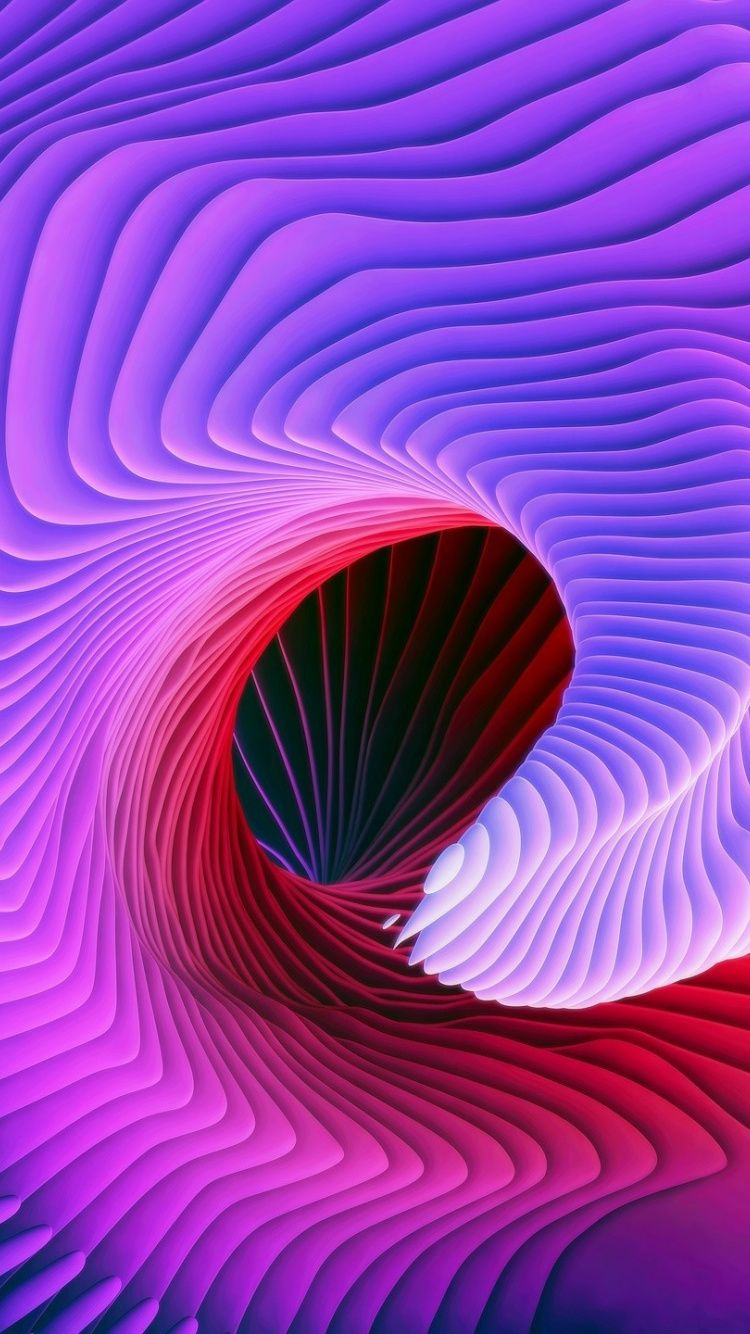 Waves Shape Abstract Pattern 750x1334 Wallpaper Samsung Wallpaper Stock Wallpaper 3d Wallpaper For Mobile