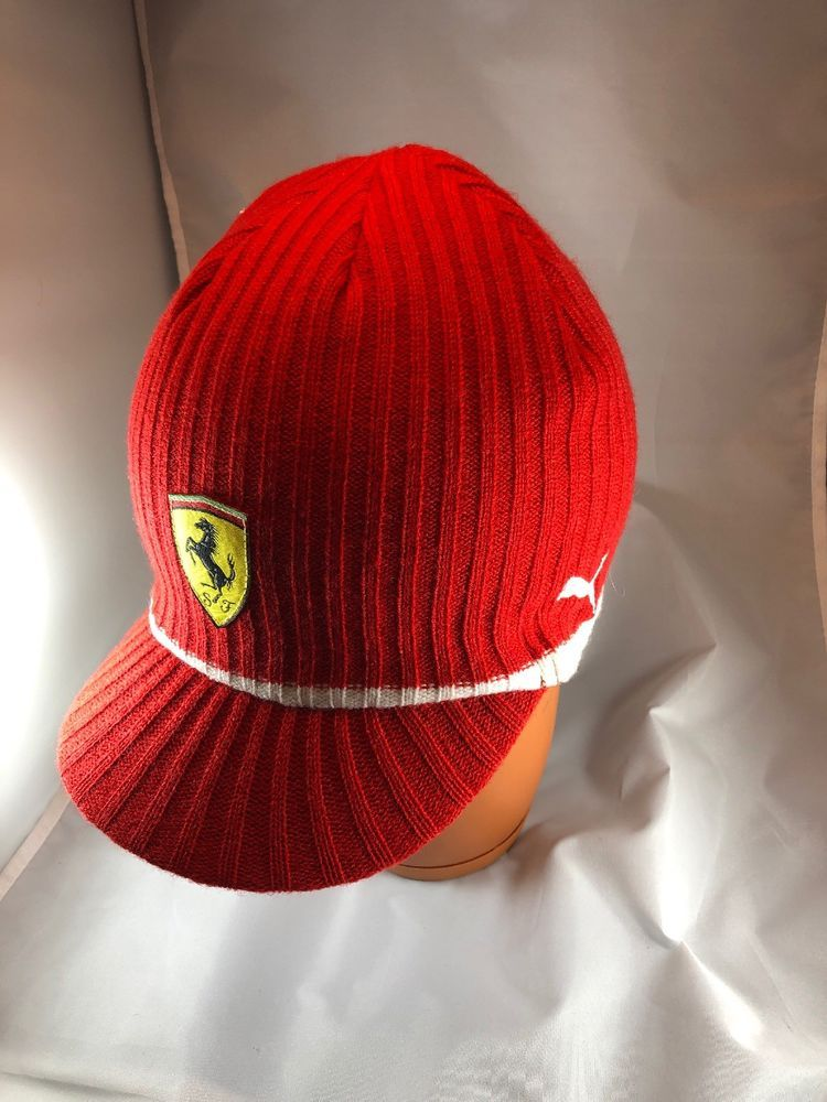 fcc17074040 PUMA Ferrari Lifestyle Red Cap One Size Wool  fashion  clothing  shoes   accessories