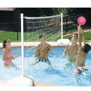 Best 25 pool volleyball net ideas on pinterest for Pool design for volleyball