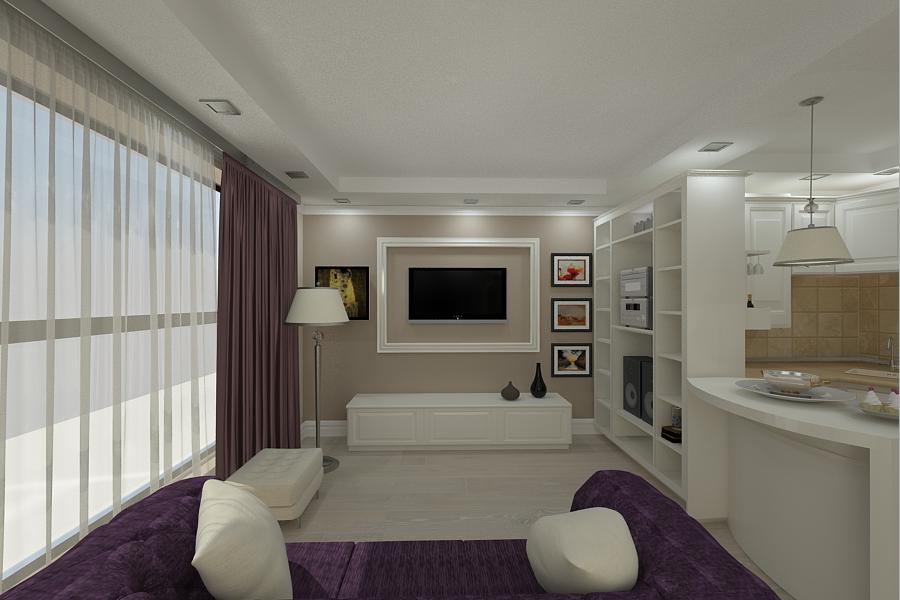 Design Interior Apartament 2 Camere Apartemen