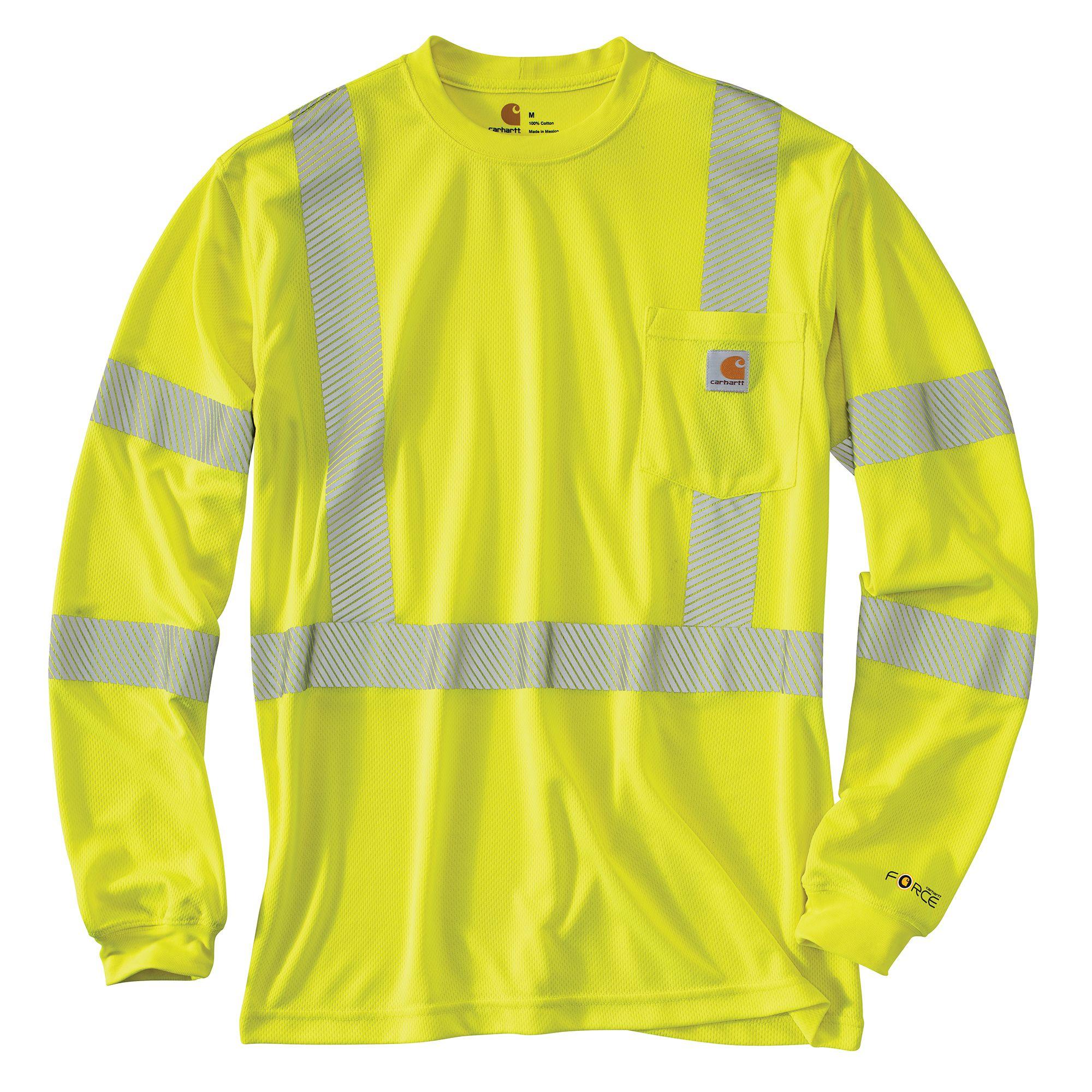 100496 Carhartt High Visibility Class 3 Reflective TShirt