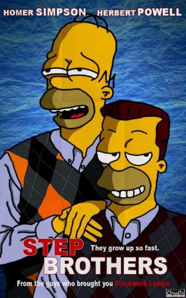 The Simpsons In Different Movies Hahahaha Love Both Of These Movies Simpsons Characters The Simpsons Movie The Simpsons