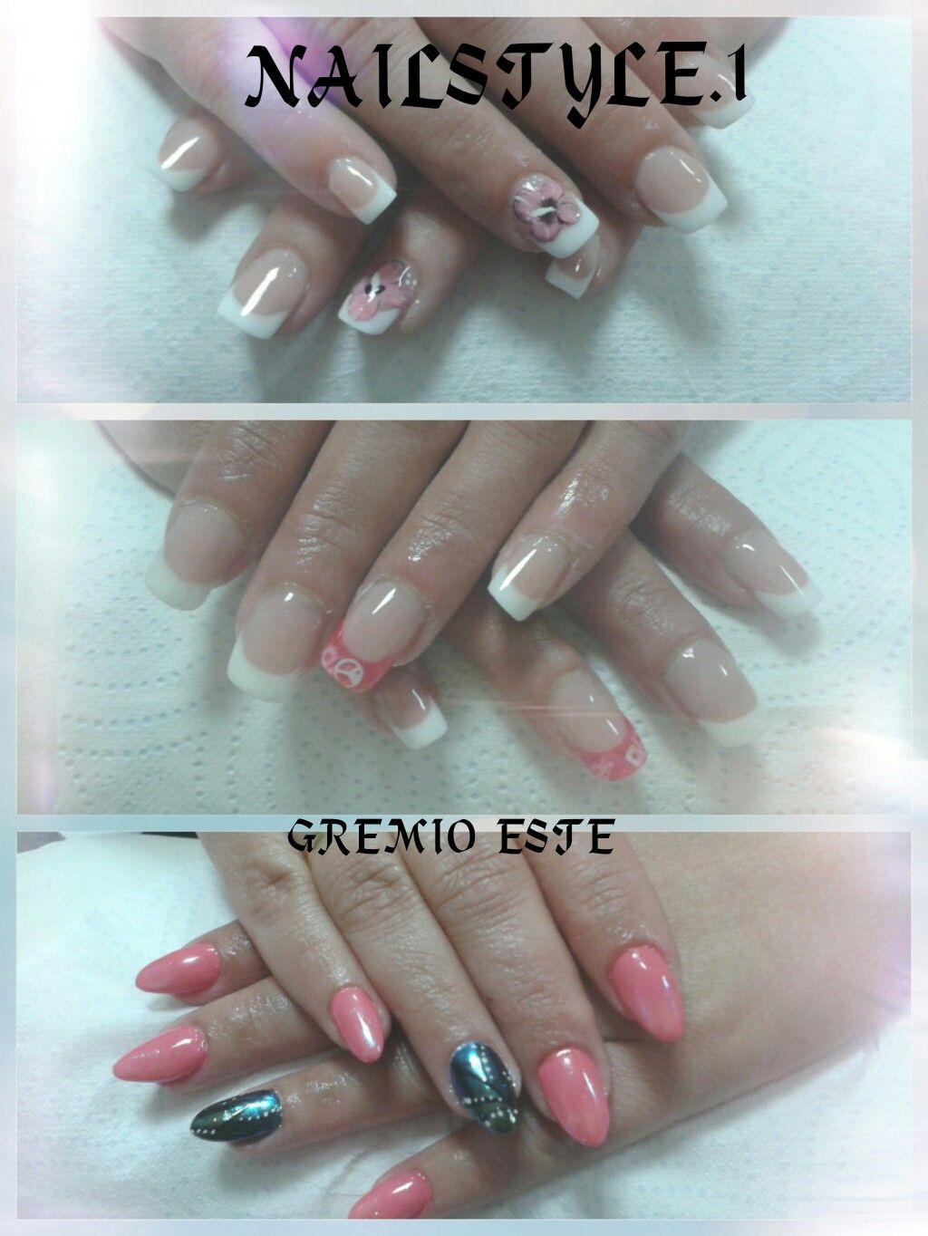 Diseños uñas acrilicas Y one strong Esmalte permanente y efecto ...