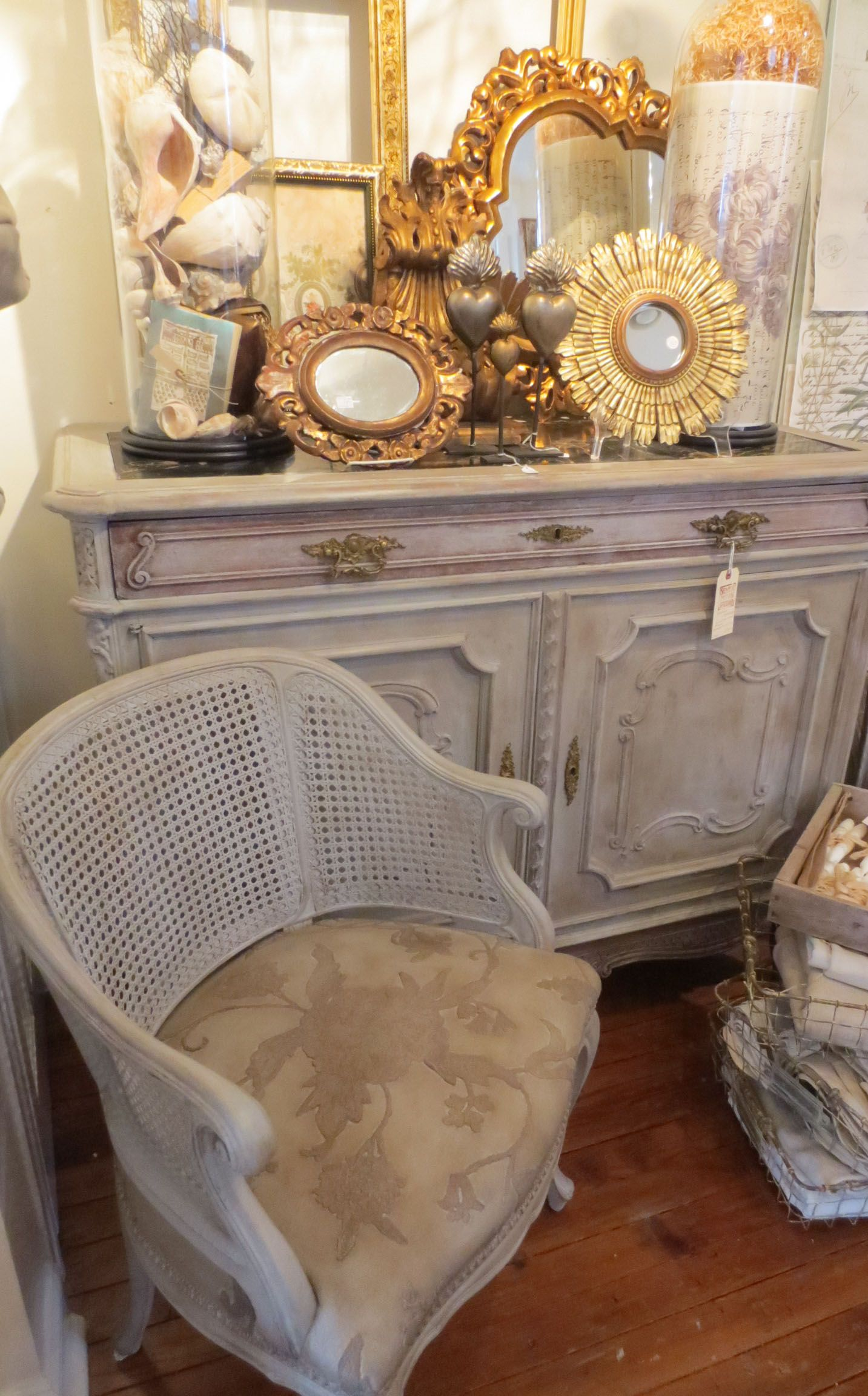 French Grey at Silver Moon Studio Antiques French