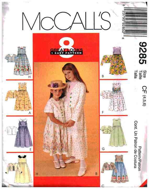 McCall\'s Sewing Pattern 9285 | Newest Sewing Patterns | Pinterest