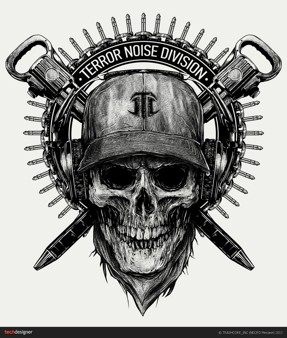 TERROR NOISE DIVISION, Иллюстрация © Михаил Ковалёв | DARK ...