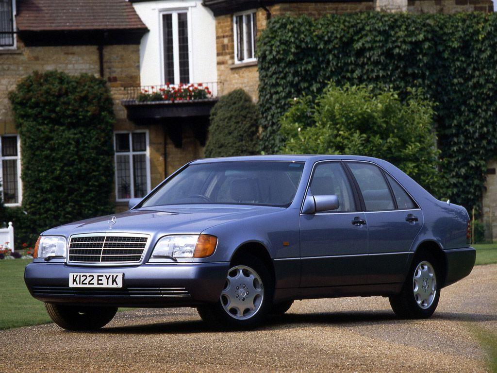 W140 Sedan Benz, Love it in blue!