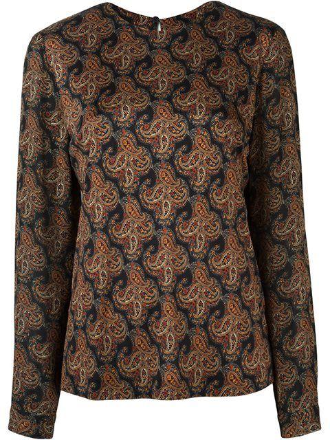 ETRO 印花罩衫. #etro #cloth #印花罩衫